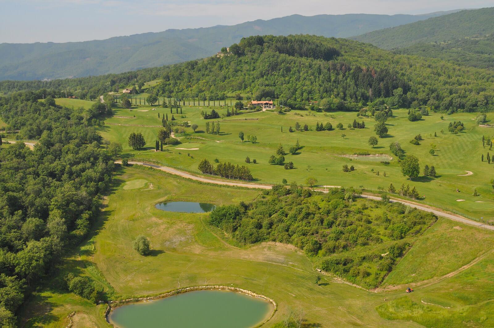 Casentino golf Arezzo